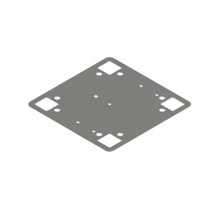 Infästningsplatta 400 x 400 CWL