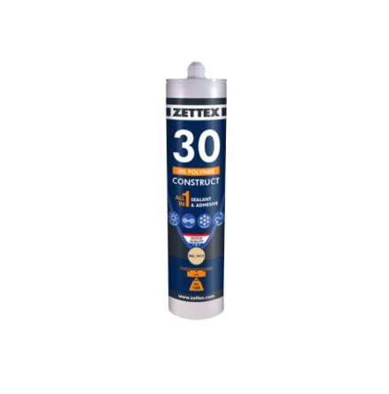 ZETTEX MS 30 Construct Grey RAL 7004, 290 ml